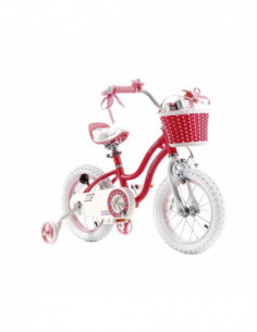 "BICICLETA 12″ RoyalBaby ""STAR GIRL"" ROZ"